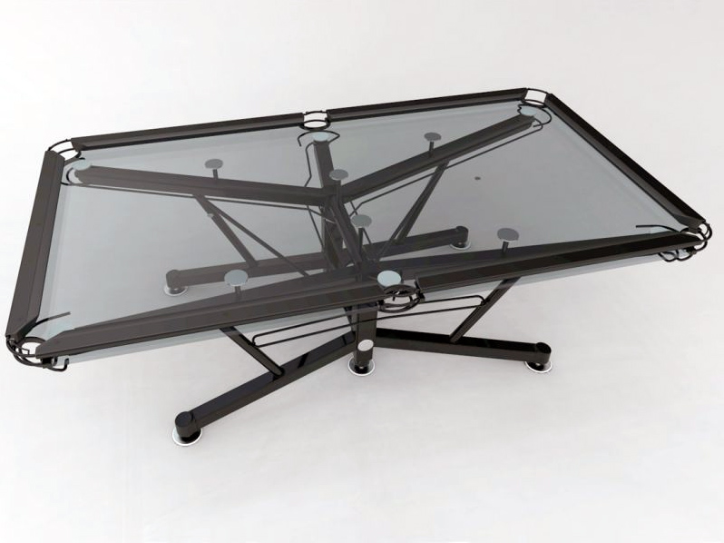 The Australian Made G 1 Glass Top Pool Table By Nottage Design Is Made From  Tempered Glass With A Patented Transparent Vitrik™ Playing Surface Replaces  The ...